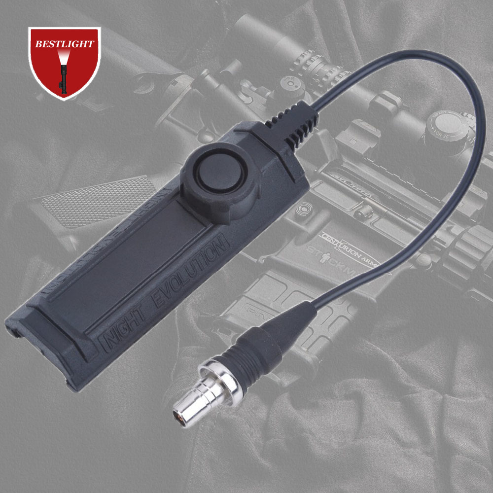 Always Brighting Night Evolution Remote Light Tail Dual Switch Softair Accessory Switch for Always Bright-in Hunting Gun Accessories from Sports & Entertainment
