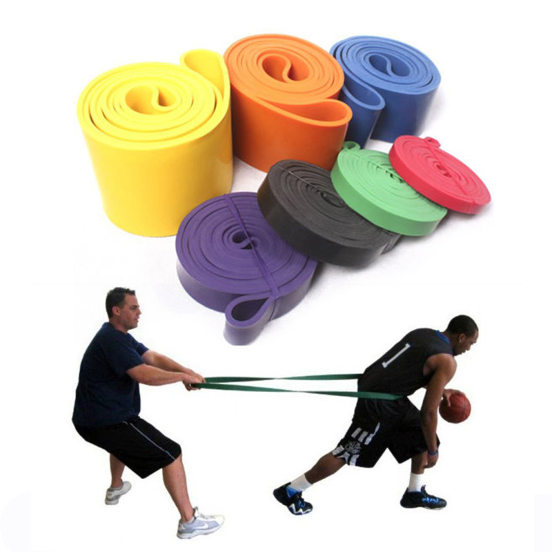 Fitness Equipment Cross Fit Loop Pull Up Fitness Yoga Latex Resistance Bands Expander Band Pounds For Training Body