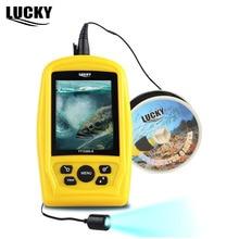 SZCZĘŚCIE Marka FF3308-8 Podwodne Połowy Czujnik Kamery CMD 3.5 cal TFT Monitor 20 M Kabel RGB Wodoodporna Fish Finder CAM