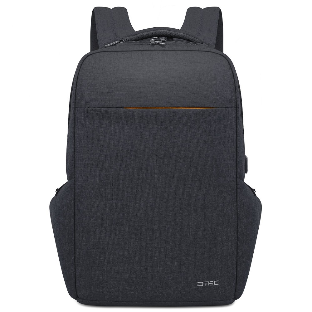 DTBG 17.3 pouces sac à dos pour ordinateur portable Externe USB De Charge unisexe Anti Vol Hommes Sacs À Dos pour Voyage sac d'école imperméable Mâle Femelle