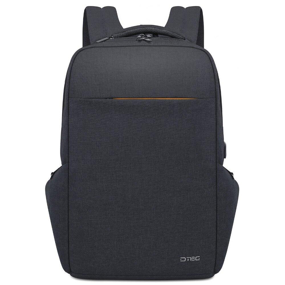 DTBG 17.3 pouces sac à dos pour ordinateur portable externe USB charge unisexe Anti-vol hommes sacs à dos pour voyage étanche sac d'école mâle femme