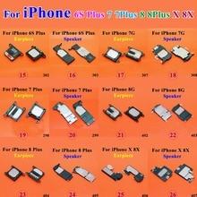 1pcs Earpiece Speaker for iPhone 6S Plus 7G 7 8G 8 8X X LoudSpeaker earphone Mobile phone replacement parts