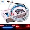1 Set 2017 Car Styling Rear Tail Lights Dynamic Streamer Brake Turn Signal LED Warning Lights
