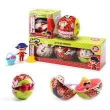 NOVA Joaninha Dos Desenhos Animados Mudança Milagrosa Dos Ovos Para Incubação Para LoL Para Surpresa Bola Boneca de Brinquedo Figuras de Ação Anime Presente de Aniversário Da Menina