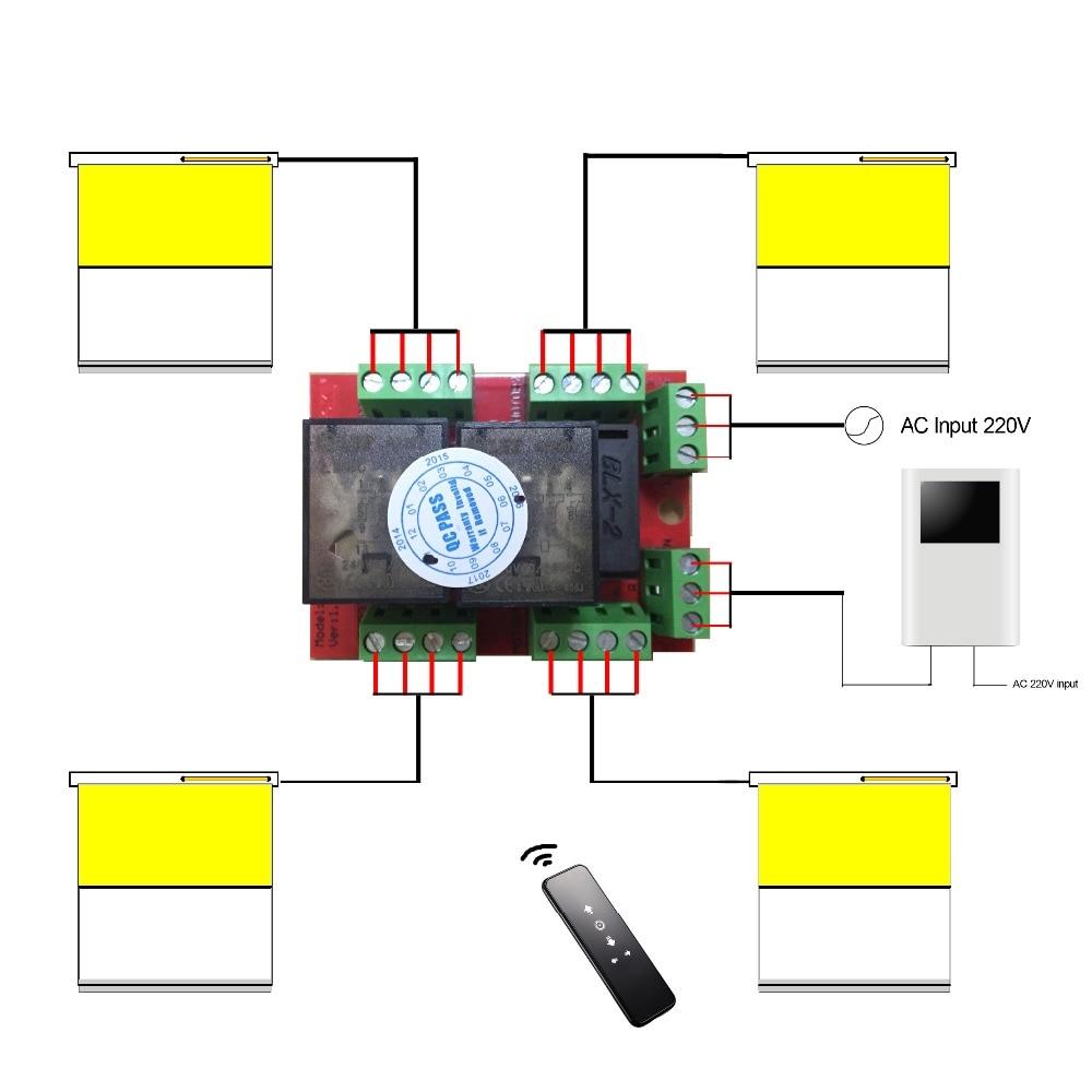 ANYSANE Универсальная Группа Радио пульт дистанционного управления 433,92 МГц Rf 4ch радио приемник реле для автоматизированного занавеса затвора умный дом - 6