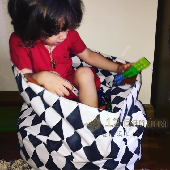 Sac de rangement de jouets sac de grande capacité sac en tissu organisateur de toilette sac cadeau de salon pour voyage de cuisine à la maison