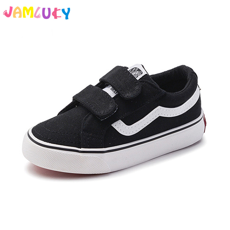 Canvas Children Shoes Kids Canvas Casual Shoes Girl And Boys 2018 Spring Breathable Children Student Leisure Flat Shoes For Girl