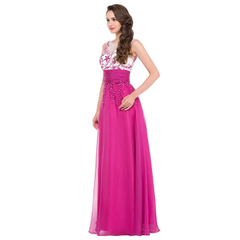 Gracia Karin vestido de festa Lentejuelas rosa oscuro Vestidos de ...