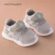 Neue Mode Kinder Sneaker net atmungsaktiv rosa Freizeit Sport Laufschuhe für Mädchen weiße Schuhe für Jungen Marke Kinder Schuhe