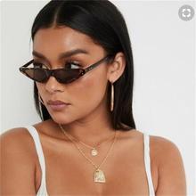 black Sunglasses 2020 trendy red Sunglasses Women Classic Brand Water drop shaped brand Design Small Frame Sun Glasses men UV400