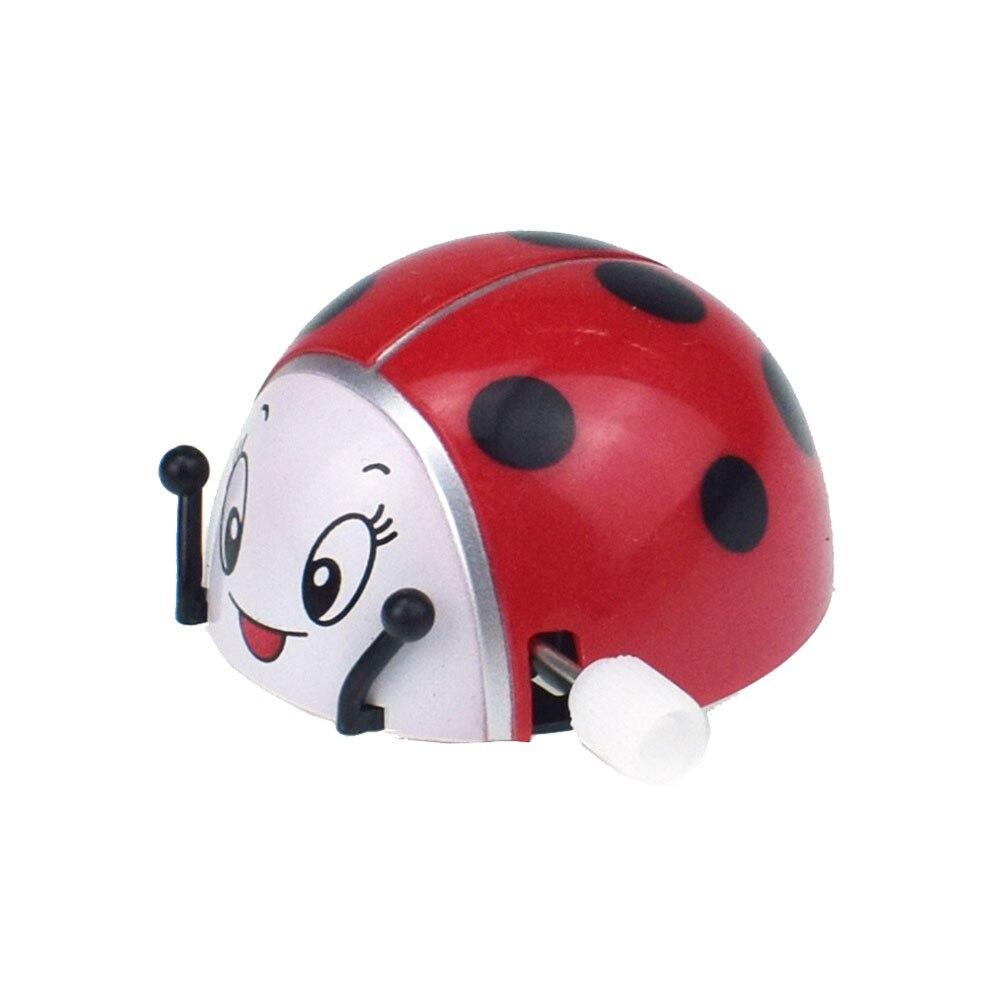 Toy Clockwork-Toys Ladybug Hobby Plastic Small Game Gift Entertainment Education Somersault