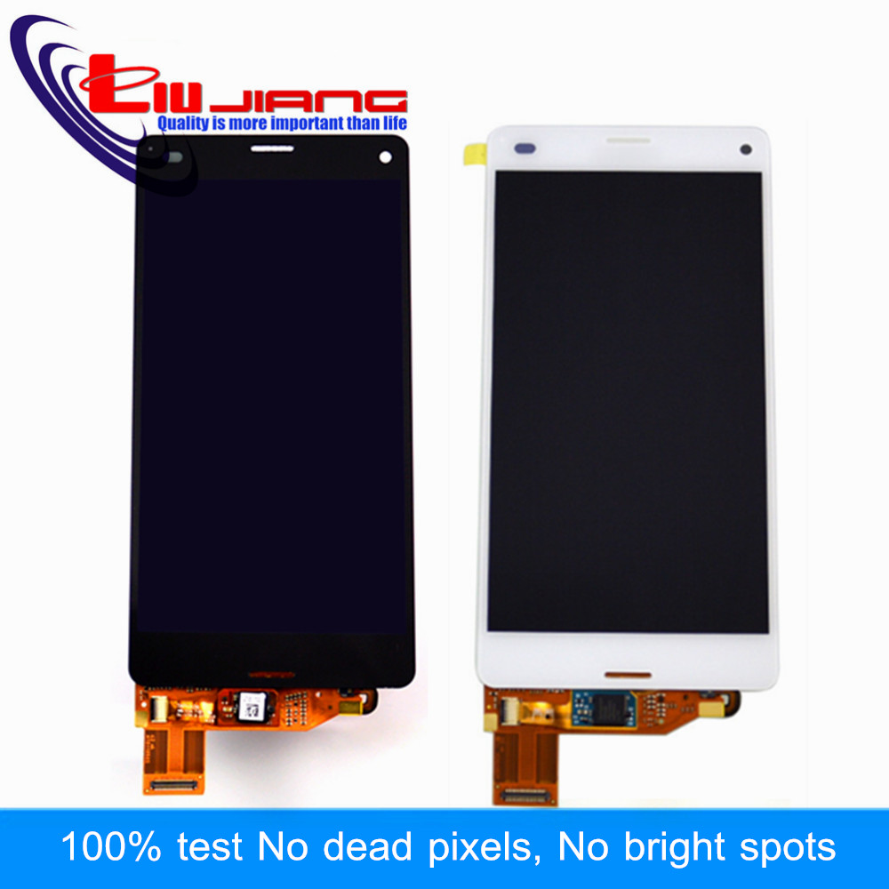 Liujiang Original quality Display For Sony Z3 Mini Z3 Compact D5803 D5833 LCD with Touch Screen