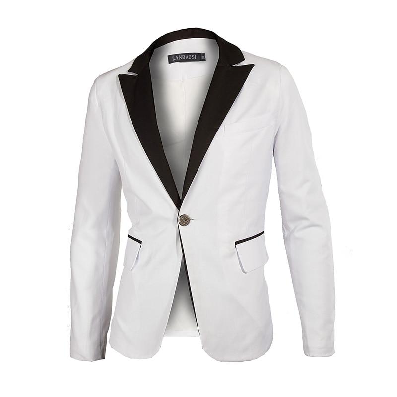 Popular White Mens Blazer Jacket-Buy Cheap White Mens Blazer