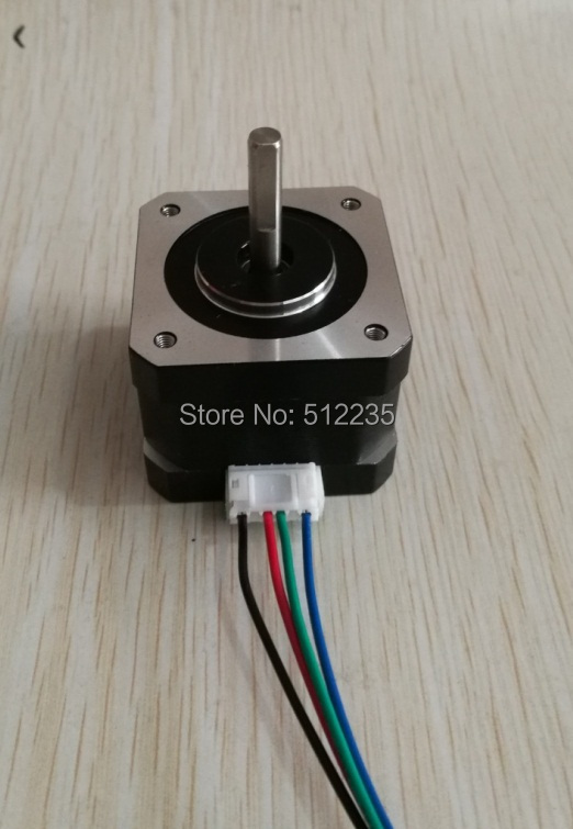 Free shipping 17HS3430 4-lead Nema 17 Stepper Motor 42 motor 42BYGH 1.2A CE ROSH ISO CNC Laser Grind Foam Plasma Cut firefly q6 hd video camera light camera 4k fpv quadcopter 40g camera uav for rc drones built in gyroscope stabilization