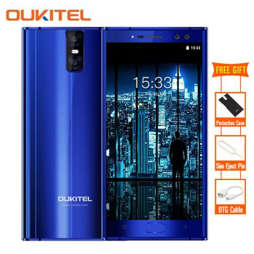 Oukitel K3 4 Cameras 16 0MP 2 0MP 4G Mobile Phone MTK6750T Octa Core 4GB 64GB