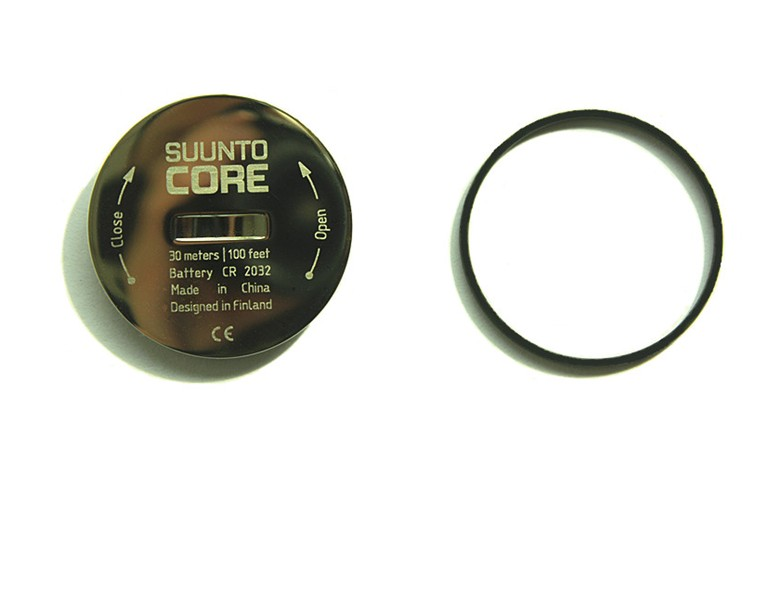 Watch accessories For suunto core battery cover battery cover stainless steel battery bottom cover цены онлайн