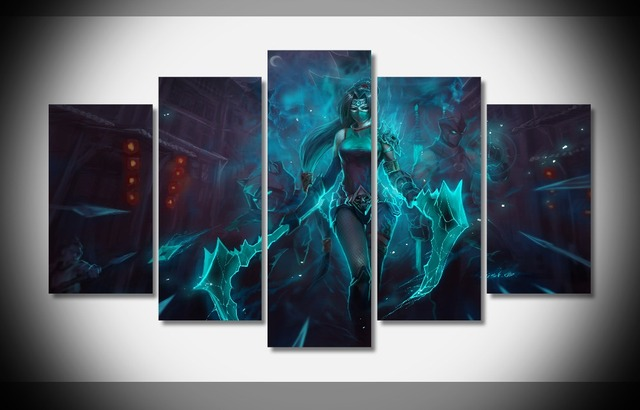 League of Legends Wall Poster print on canvas framed art prints ...