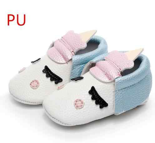 b458c46d2a8 Hot sell handmade Blush angle Unicorn designer Newborn baby boys girls shoes  PU leather toddler moccasins