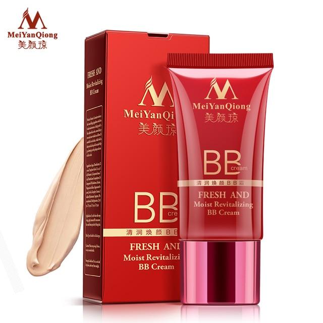 MeiYanQiong Frais Et Humide Revitalisation BB Crème Maquillage Soins Du Visage Blanchiment Compact Fondation Correcteur Empêchent Se Dorent Soins de La Peau 4