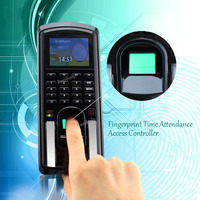 Fingerprint RFID Card Reader Keypad Time Attendance Access Control Terminal USB TCP IP Fast And Reliable