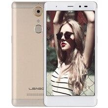 Leagoo mtk6737 t1 android 6.0 smartphone 5.0 pulgadas 4g quad core móvil 1.3 ghz 2 gb + 16 gb bt 4.1 gps teléfono móvil de huellas digitales