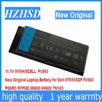 11.1 V 11.1 v 97WH 9 células Nova Bateria Do Portátil Original para Dell M4600 M6600 FV993 PG6RC R7PND 0TN1K5DP TN1K5