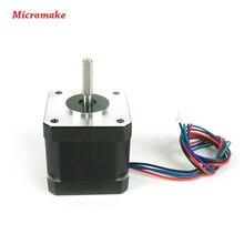 Micromake 3D Printer Parts 1pcs 42/48 Stepper Motors 12V 1.7A for Delta 3D Printer