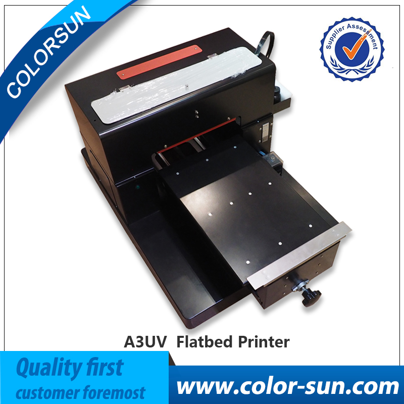 Factory price printer flatbed uv printer a3 size for wood/Metal/Glass printing