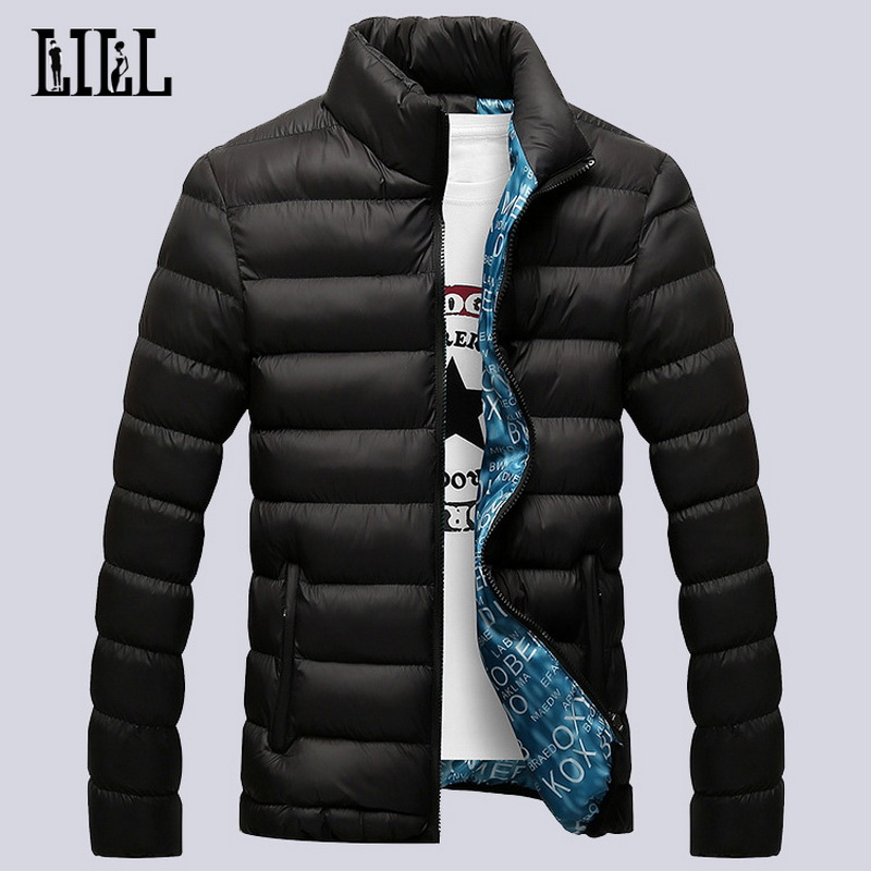 2016 Fashion Winter Light Down Jackets For Men Warm Breathable Casual Coats Men's Outerwear Windproof Feather Jacket 5XL,UMA091