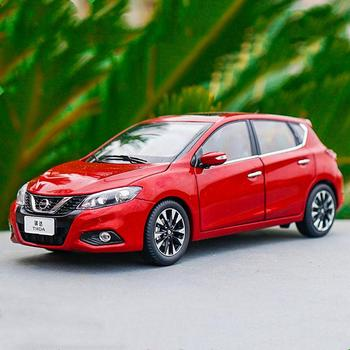 1/18 Scale Nissan TIIDA Hatchback 2016 Red Diecast Car Model Toy Collection