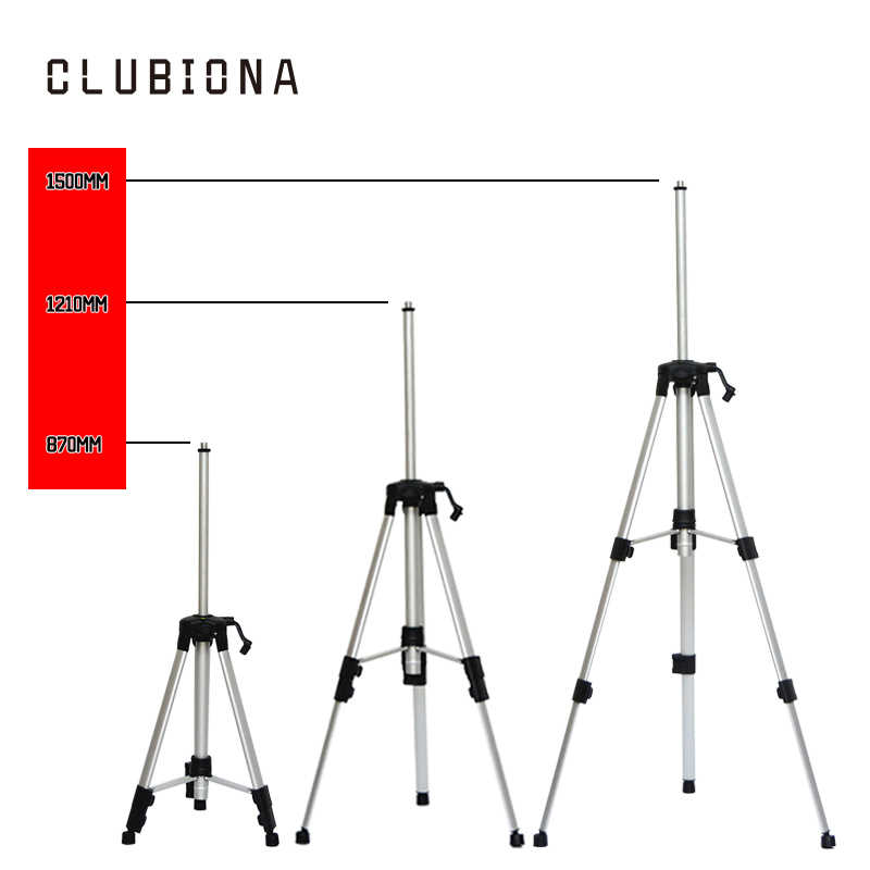 5/8 ila 1/4 adaptör için 1/4 konu kırmızı veya yeşil dijital düzeneği 755g net ağırlık alüminyum kaplı standı veya tripod