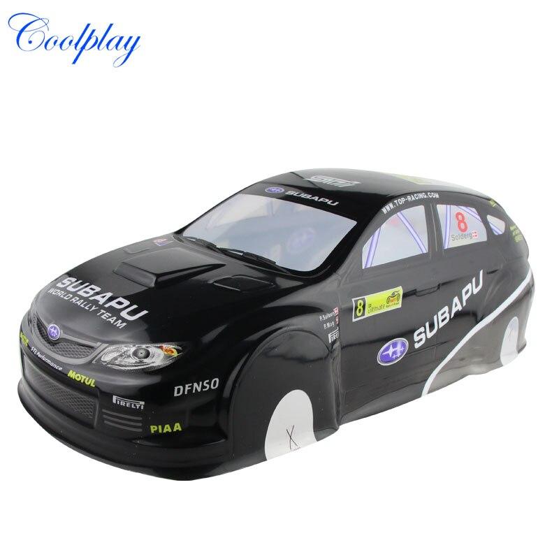 Coolplay 1//10 PVC Car Body Shell RC Racing Car Accessories for Mazada Rx7