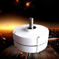 New Three phase AC Permanent Magnet Generator NE 400W Wind Power Alternator Wind Turbine Generator 12V/24V 950r/min IP55 16MM