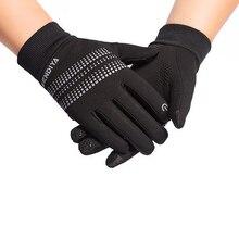 Running Gloves Women Mens Touch Screen Anti-Slip Riding Gloves Climbing Full Finger Warm Glove Autumn Winter Outdoor Luvas