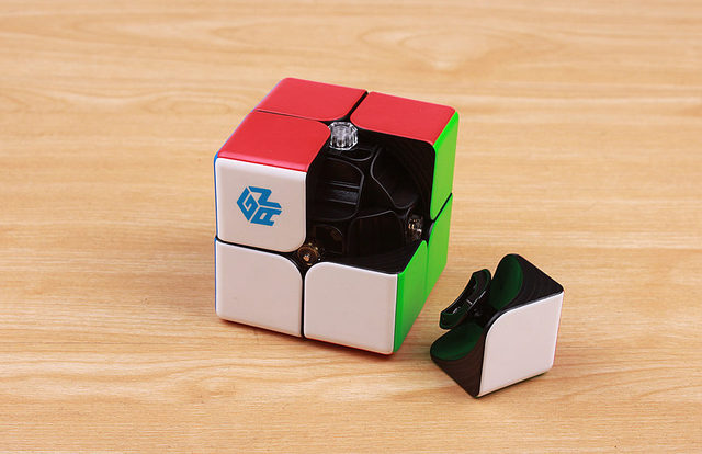 GAN249 V2 M 2x2x2 puzzle cube 2x2 Speed Magic Cube Puzzle V2 M Magnetic Professional cubo magico Twist Educational Toys for Kids 6