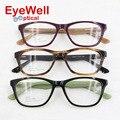 Наиболее популярные ацетат оптически рамки с пружинным шарниром старинные очки для мужчин и женщин новый бренд моды очки 2592