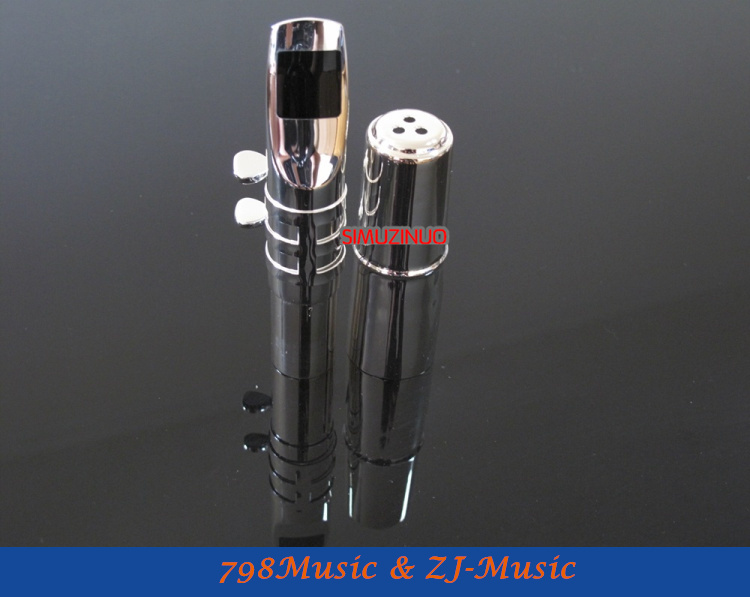 B2 Model 7#-Professional Metal Tenor Saxophone Mouthpiece Silver Plated tenor saxophone free shipping selmer instrument saxophone wire drawing bronze copper 54 professional b mouthpiece sax saxophone