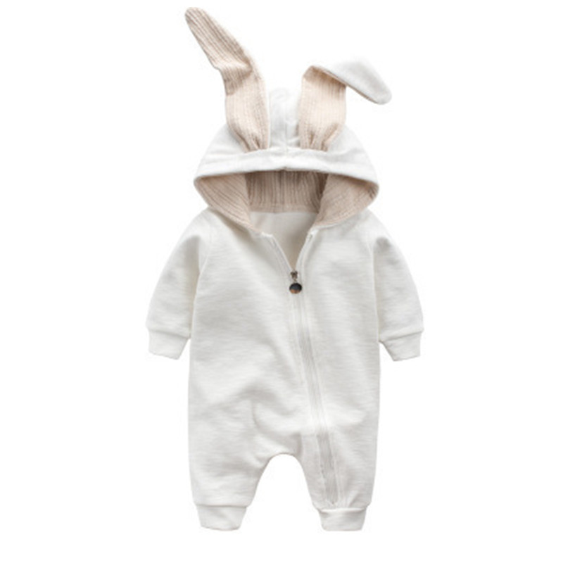 Spring Autumn Baby Clothing 2017 New Newborn Baby Boy Girl Romper Clothes Rabbit Cotton Long Sleeve Infant Boy Jumpsuits 0-18M new arrival newborn baby boy clothes long sleeve baby boys girl romper cotton infant baby rompers jumpsuits baby clothing set