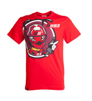 93 MARQUEZ Motorcycle T Shirts MOTO GP VR46 SKY Red Tops Jerseys Short Sleeved O Neck