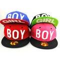 2016 досуг хип-хоп человек cap вышивка МАЛЬЧИК буквы плоским бейсбол шляпы мужчины женщины snapback hat summer sun cap