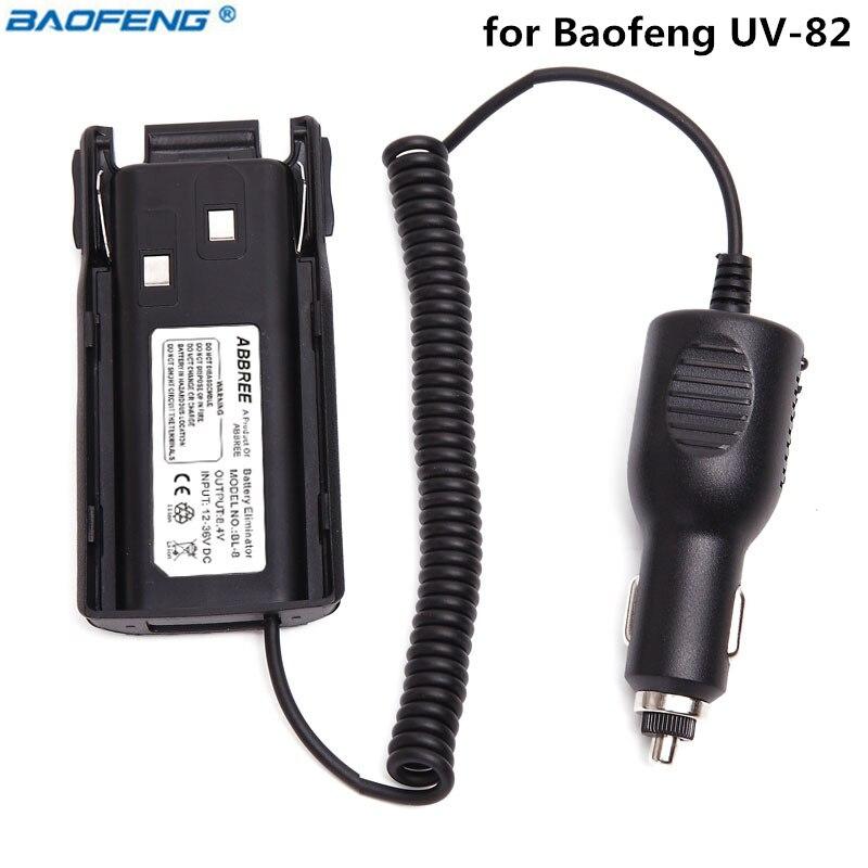 Originale Baofeng uv-12 V-36 V Car Battery Eliminator Per Baofeng uv-Plus UV-8D UV-82HX UV-82HP Bidirezionale Radio Walkie Talkie