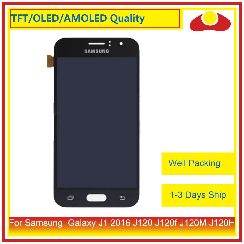 ORIGINAL 4.5 For Samsung Galaxy J1 2016 J120 J120f J120M J120H LCD Display With Touch Screen Digitizer Panel Assembly CompleteORIGINAL 4.5 For Samsung Galaxy J1 2016 J120 J120f J120M J120H LCD Display With Touch Screen Digitizer Panel Assembly Complete