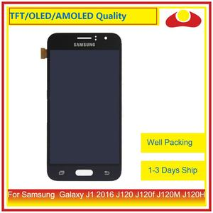 """Image 1 - ORIGINAL 4.5"""" For Samsung Galaxy J1 2016 J120 J120f J120M J120H LCD Display With Touch Screen Digitizer Panel Assembly Complete"""