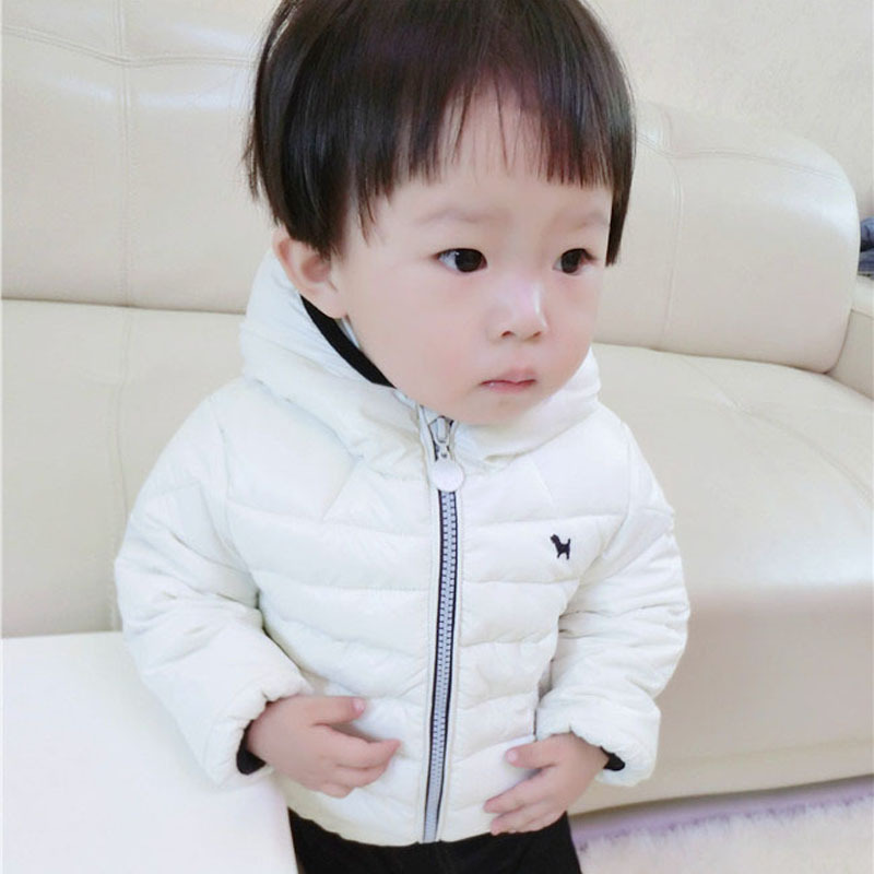 ФОТО 2016 New Leisure Children's Coat Boys Winter Children Pony Cotton Baby Clothes
