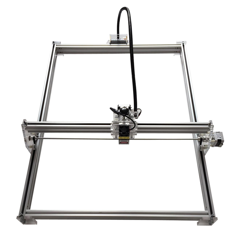 10W XY Plotter Laser Robot Machine 100*100CM Engraving Area Frame Plotter Height Adjustable Robot Kit For Drawing Carving