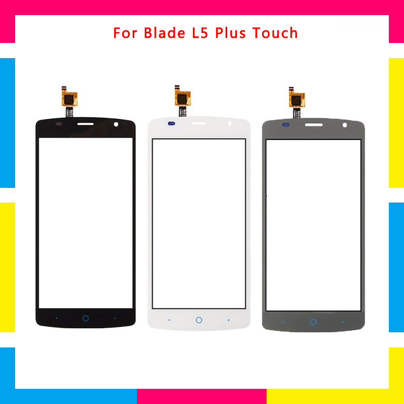 Replacement high quality Touch Screen Digitizer Sensor Outer Glass Lens Panel For ZTE Blade L5 Plus