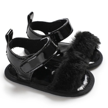 Toddler Baby Infant Girl Soft Sole  Shoes Plush Slide Shoes