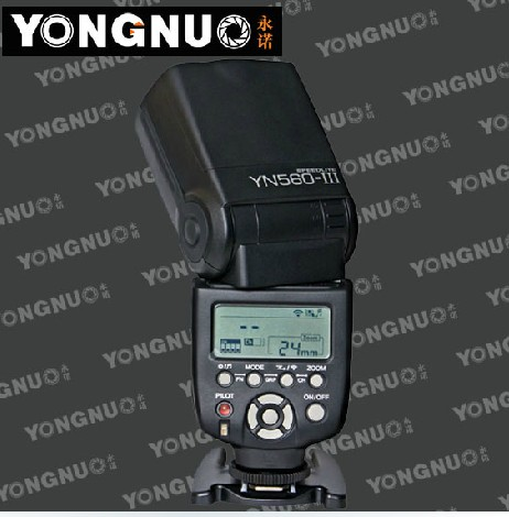 Yongnuo YN-560III YN560 III wireless Flash Speedlite Speedlight for Canon 5DII 5DIII 5D 500D 400D 650D 600D 450D 60D 7