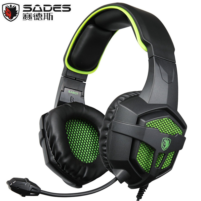 SADES SA-807 Multi-Platform New Xbox one PS4 Gaming Headset, Gaming Headsets Headphones For New Xbox one PS4 PC Laptop Mac iPad