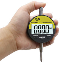 0.001Mm Ip54 Oil Proof Digital Micro-meter 12.7Mm/0.5 Inch Electronic Micro-meters Gauge Meter Dial Gauge With Rs232 Data Out(China)